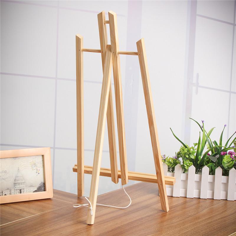 [해외]40cm / 50cm A4 / A3 사이즈 탁상용 디스플레이 너도밤 나무 우드 아티스트 아트 이젤 크래프트 파티 장식을나무/40cm/50cm A4/A3 Size Table Top Display Beech Wood Artist Art Easel Craft Wood