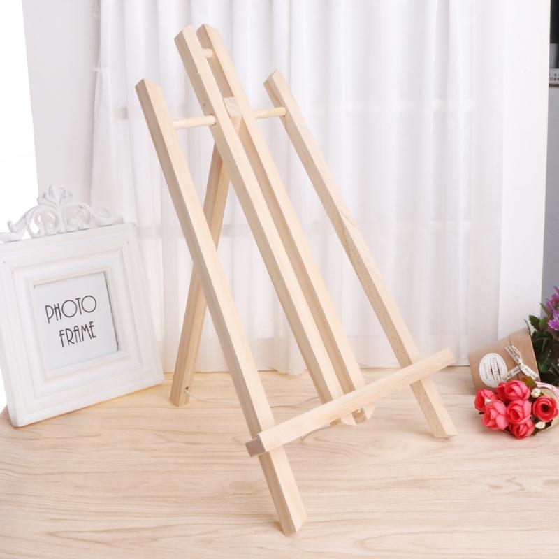 [해외]나무 이젤 광고 전시회 전시 선반 홀더 스튜디오 그림 스탠드/Wood Easel Advertisement Exhibition Display Shelf Holder Studio Painting Stand