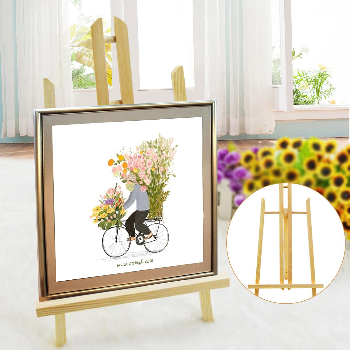 [해외]1 PC 23.5 * 40cm 미니 아티스트 나무 이젤 나무 웨딩 테이블 카드 삼각대 디스플레이 홀더 DIY Party Decoration/1 Pcs 23.5*40cm Mini Artist Wooden Easel Wood Wedding Table Card Tri