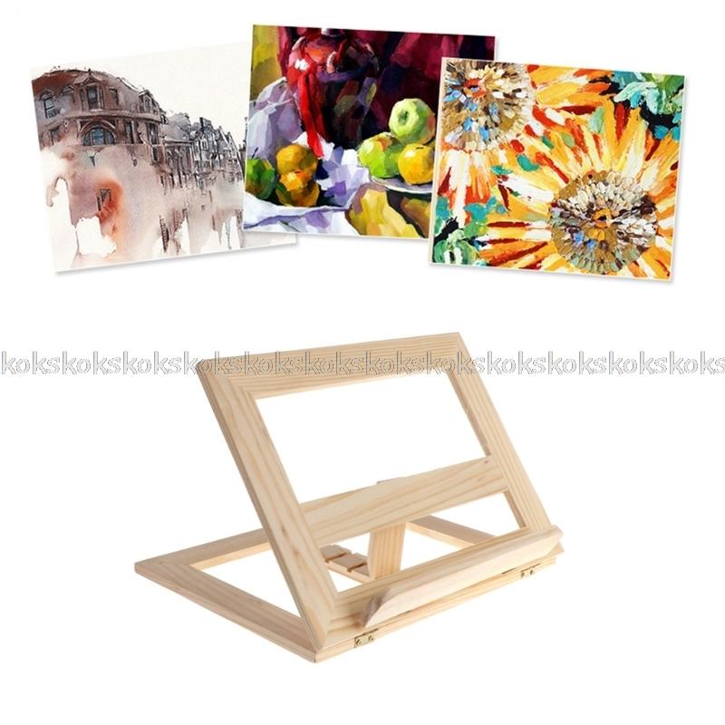 [해외]새로운 나무 패드 이젤 조절 태블릿 문서 요리 책 디스플레이 스탠드 홀더 JUL26 dropship/New Wooden Pad Easel Adjustable Tablet Document Cookbook Display Stand Holder JUL26 dropsh