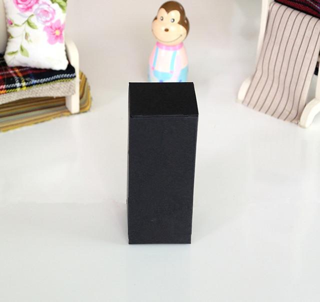 [해외]4 * 4 * 10.2CM 블랙 크래프트 종이 상자 화장품 에센스 오일 병 포장 상자 사용자 지정 상자/4*4*10.2CM Black Kraft Paper Box Cosmetic Essence Oil Bottle Packaging Box Custom Boxes
