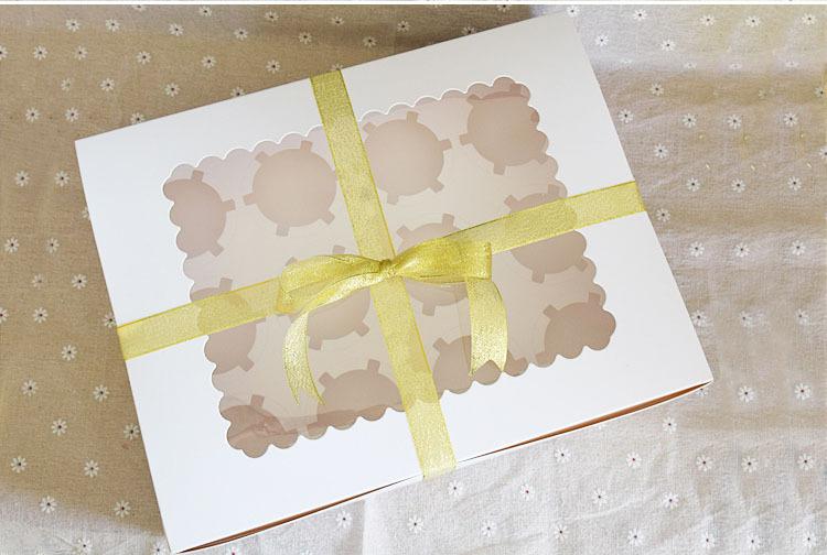 [해외]50PCS 포장 상자 컵 케이크 상자 베이킹 선물 포장 (12) CupcakeKraft 용지 / 많은/12 CupcakeKraft Paper Packaging Box Cup Cake Boxes Baking Gift Packing 50pcs/lot