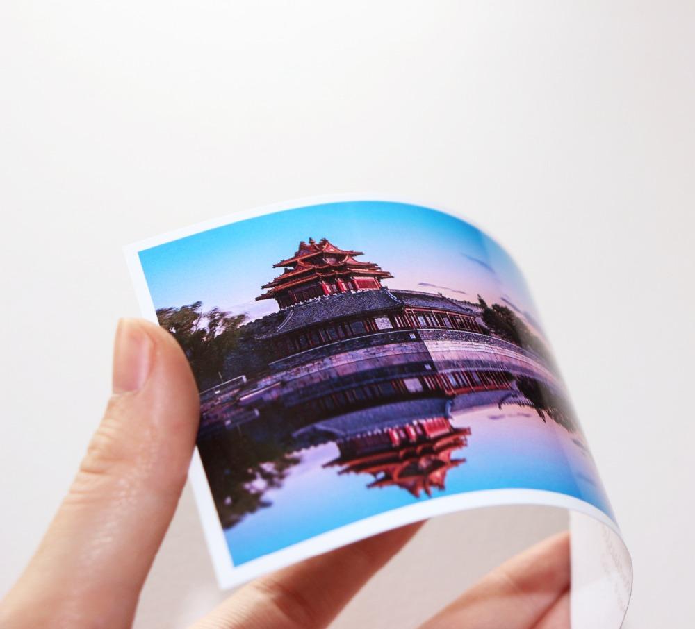 [해외]고광택 인화지 A4 4R 컬러 잉크젯 프린터 다양한 매끄러운 표면 크기 20 매 / 팩/High glossy photo paper A4 4R for color inkjet printer Luminous smooth surface different size 20s