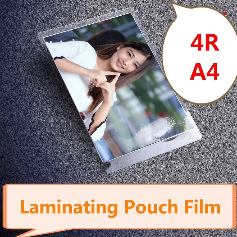 [해외]열 접착 필름 80 mic 4R (6 &) A4 PET 플라스틱 파우치 8C 두께, 100 개 / 팩/Thermal Laminating Film  80 mic 4R (6&) A4  PET Plastic Pouch 8C thickness , 100 Pcs/