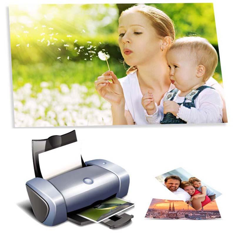 [해외]?인화지 3R, 4R, 5R, A3, A4, A5, A6 100 매 고광택 프린터 인화지 잉크젯 프린터 인쇄 사무용품/ Photo Paper 3R,4R,5R,A3,A4,A5,A6 100 Sheets High Glossy Printer Photographic Pa