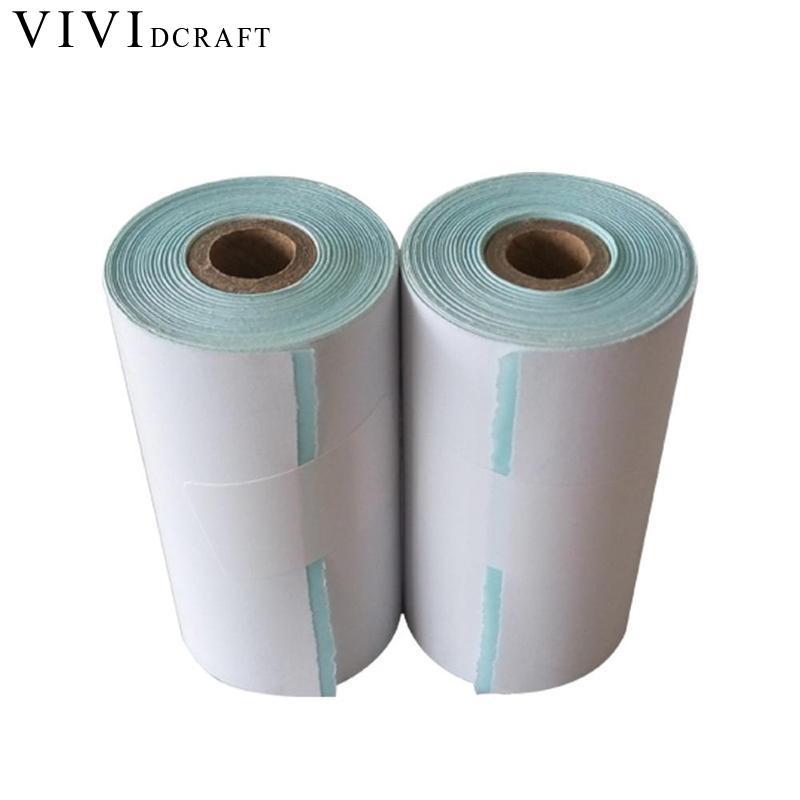 [해외]Vividcraft 사무 용품 57 * 30mm 광택 용지 롤 사진 용지 A4 연속 HD 접착 인쇄 용지 라벨 인화지/Vividcraft Office Supplies 57*30mm Glossy Paper Roll Photo Paper A4 Continuous H