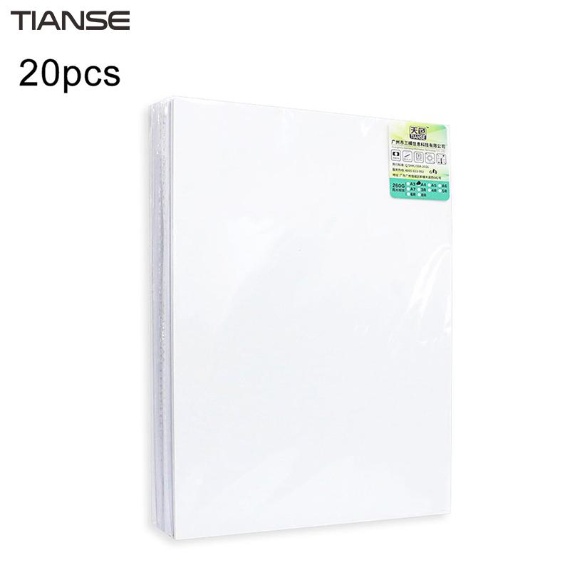 [해외]TIANSE 고광택 포토 용지 컬러 잉크젯 인쇄 용지 A4 / A5 / A6 인화지 180g / 200g / 230g / 260g 방수/TIANSE High Glossy Photo Paper Color Inkjet Printing Paper A4/ A5/ A6