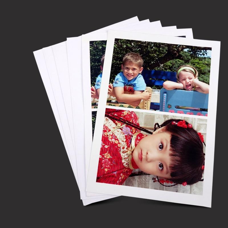 [해외]100 매 4R 4x6 광택 프린터 인화지 잉크젯 프린터 용 캠코더 캠코더 학교 사무실 편지지 용품/100 Sheets 4R 4x6 Glossy Printer Photo Paper Printing for Inkjet Printers Cameras Camcorde