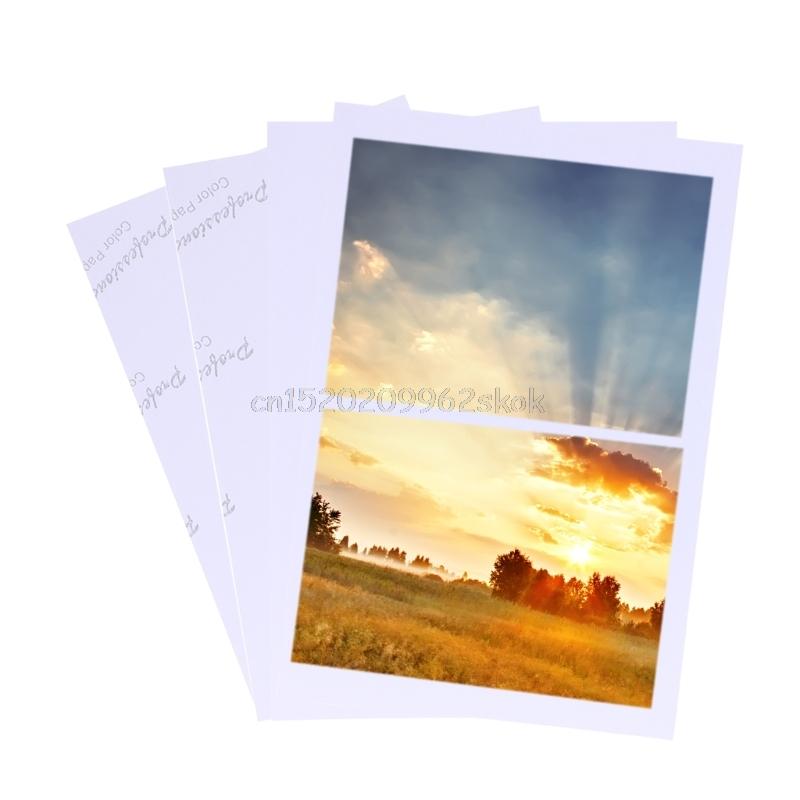 [해외]100 매 광택지 4R 4x6 인화지 잉크젯 프린터 용 소모품 Au22 /100 Sheets Glossy 4R 4x6 Photo Paper For Inkjet Printer paper Supplies Au22 Dropshipping