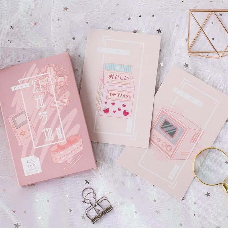 [해외]카드 애호가 꿈 것들 엽서 책갈피 편지 용지 인사 장 1 lot = 1 pack = 30 pcs/Card Lover dream things postcard bookmark Letter paper greeting card 1 lot = 1 pack = 30 pcs