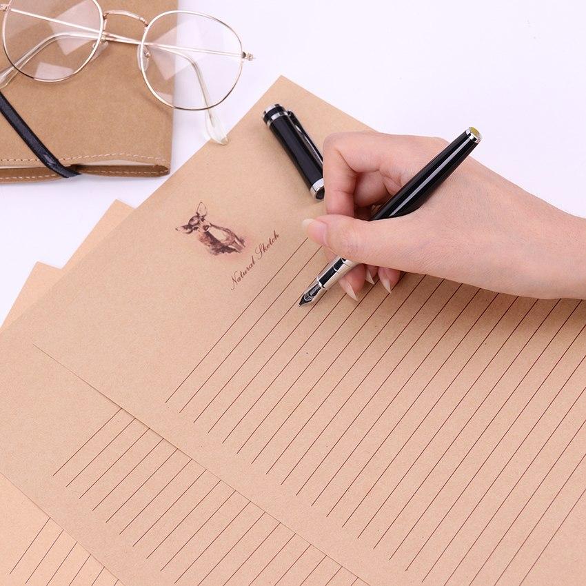 [해외]10 장 / 세트 새 편지 패드 유럽식 작풍 쓰기 종이 문화 오피스 문구 용품/10 Sheets/Set New Letter Pad European Vintage Style Writing Paper   Culture Office Stationery