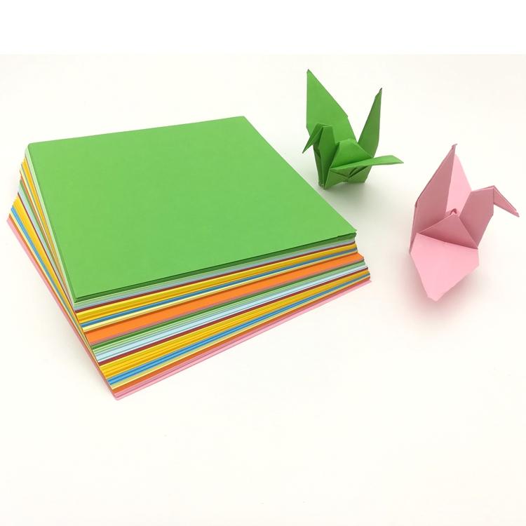 [해외]공예 사각형 접는 종이 손수 복사 믹스 컬러 용지/Craft Square Folding Paper Handmade copy mix Color Paper