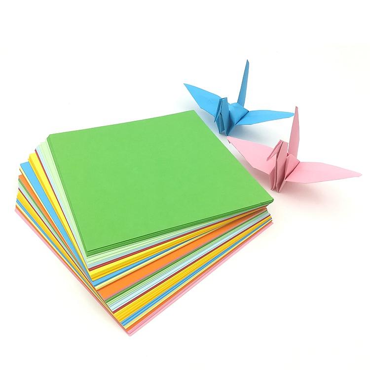 [해외]DIY 어린이 선물 종이 크레인 종이 접기 공예 사각형 접는 종이 수제 복사 색 종이/DIY Kid Gift Paper cranes Origami Craft Square Folding Paper Handmade copy Color Paper