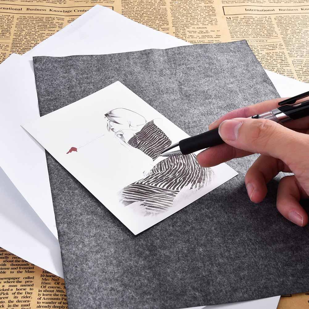 [해외]클래식 전송 용지 추적 용지 2018 Faddish Lovely School Supplies 25Pcs / set/Classical Transfer Paper Tracing Paper 2018 Faddish  Lovely School Supplies 25Pcs/