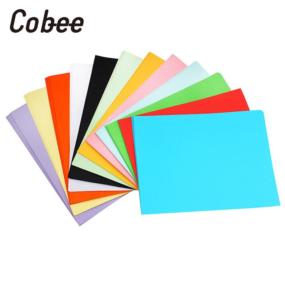 [해외]컬러 프린터 용지 컬러 복사 용지 컬러 용지 카드 160gsm A4 편지지 프리미엄 Scrapbooking 유니버설 100pcs/Coloured Printer Paper Coloured Copy Paper Coloured Paper Card 160gsm A4 S