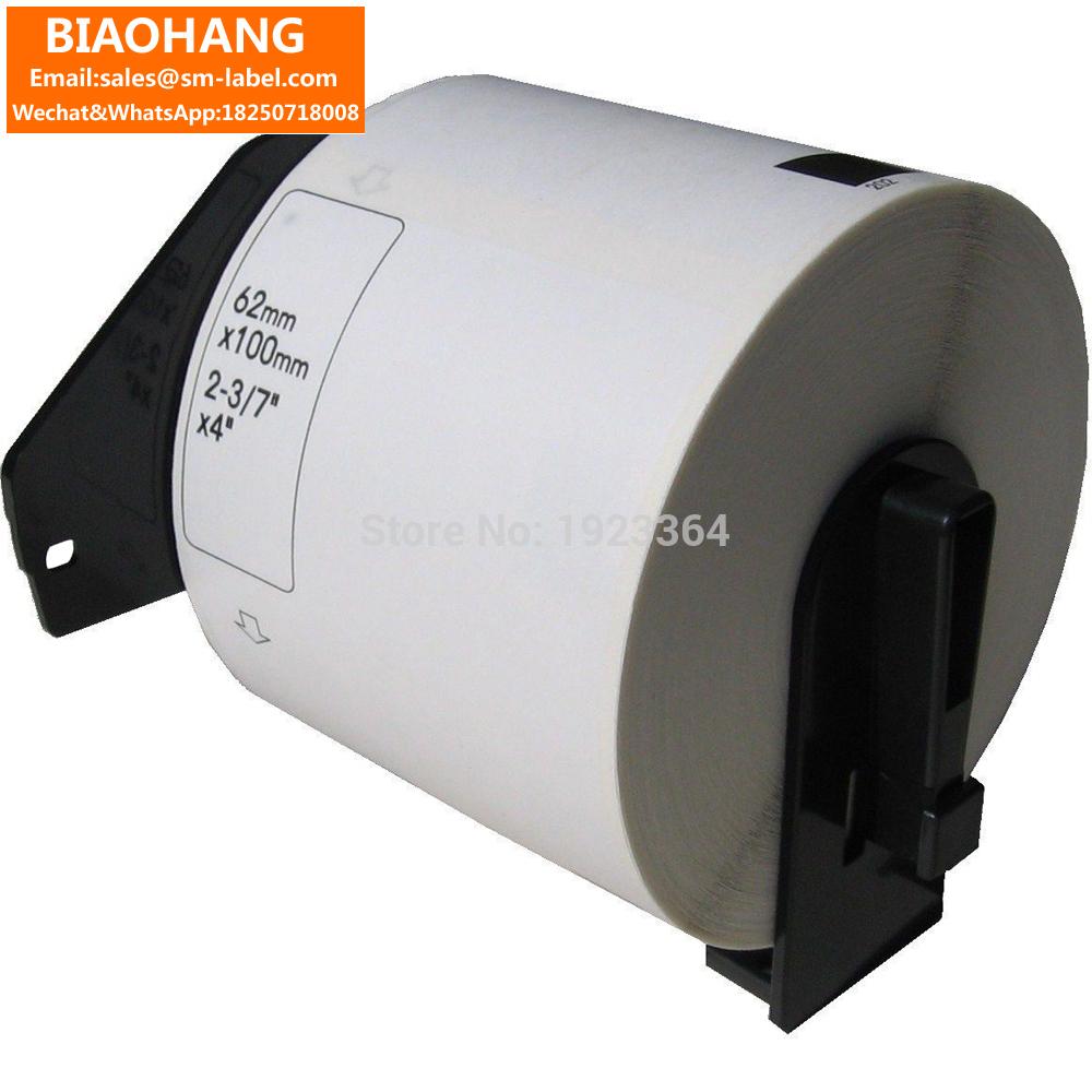 [해외]100x Rolls DK-11202 Rolls Brother Compatible 11202 DK-11202 DK 1202에 따라 62 x 100mm 300 라벨/100x Rolls DK-11202 Rolls Brother Compatible 11202 62 x