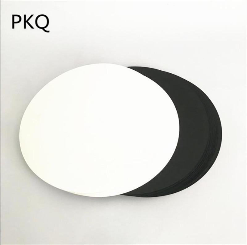 [해외]50pcs / lot 지름 29cm / 36cm 원형 빈 골판지 스케치에 적합 손으로 만든 수채화 그림 만화 그림 250gsm/50pcs/lot Diameter 29cm/36cm Circular Blank Cardboard Suitable for Sketch H