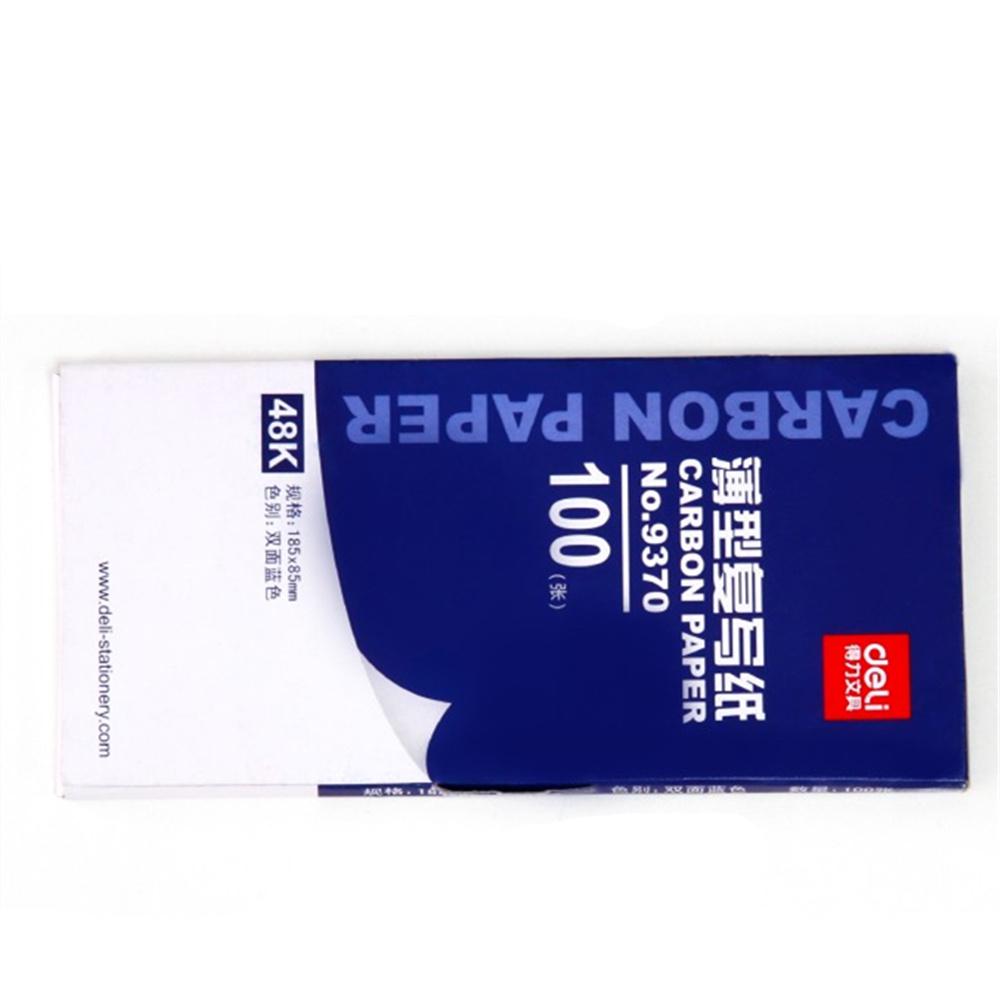 [해외]100pcs / 상자 9370 48K 8.5cmX18.5cm 블루 탄소 스텐실 전송 용지 양면 핸드 프로 복사기 추적 Hectograph Repro/100pcs/box  9370 48K 8.5cmX18.5cm Blue Carbon Stencil Transfer