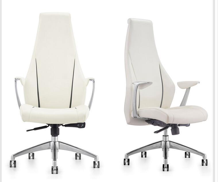 [해외]현대 사무실 의자 비즈니스 회의 의자 컴퓨터의 자 패션 보스 의자 가죽 활의 자./Modern office chair business conference chair computer chair fashion boss chair leather bow chair.