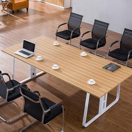 [해외]회의 테이블 사무용 가구 상업용 가구 현대 패널 + 스틸 사무실 책상는 크기 유럽 스타일을 사용자 정의 할 수 /Conference Table Office Furniture Commercial Furniture modern panel+steel office de