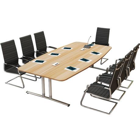 [해외]회의 테이블 사무용 가구 상업용 가구 현대 패널 + 강철 사무용 책상는 2017 크기 고체를 사용자 정의 할 수 /Conference Table Office Furniture Commercial Furniture modern panel+steel office d