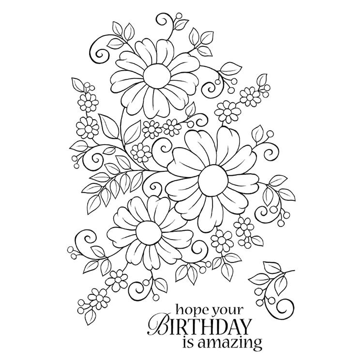 [해외]Happy Birthday Transparent Clear Silicone Stamp/Seal for DIY scrapbooking/photo album Decorative clear stamp M1259/Happy Birthday Transparent Clea