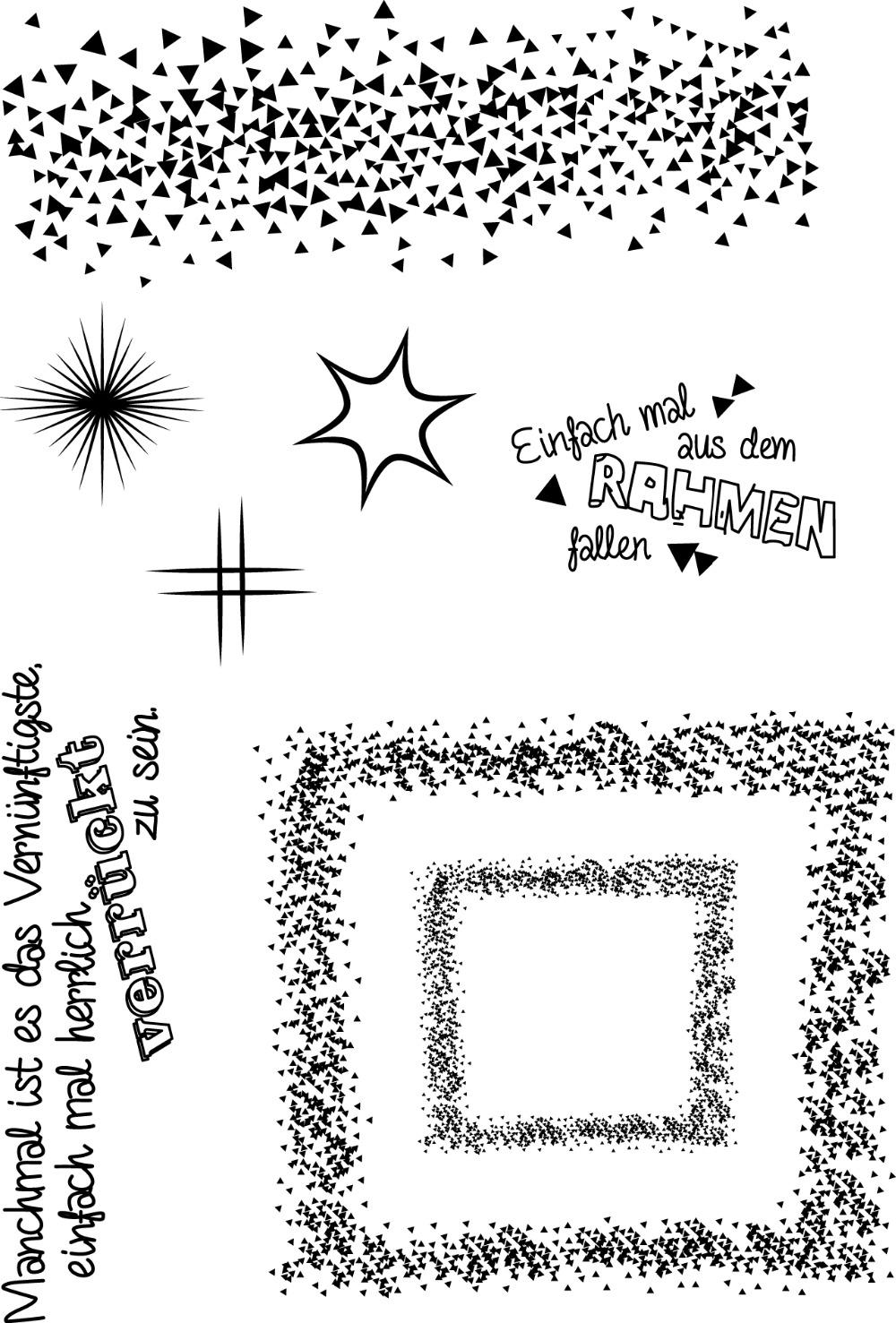 [해외]Star Transparent Clear Silicone Stamp/Seal for DIY scrapbooking/photo album Decorative clear stamp M1294/Star Transparent Clear Silicone Stamp/Sea