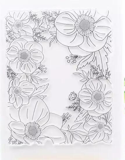 [해외]꽃 diy scrapbooking/사진 앨범을위한 투명한 명확한 실리콘 우표 또는 물개 장식적인 명확한 우표 m1183/꽃 diy scrapbooking/사진 앨범을위한 투명한 명확한 실리콘 우표 또는 물개 장식적인 명확한 우표 m1183