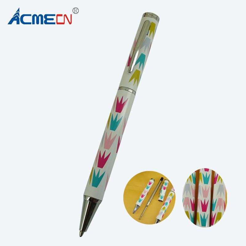 [해외]/ACMECN Unique Ballpoint Pen Original Design Heat Transfer Pattern Ball Pen Writing Instrument Back to School Students Gifts