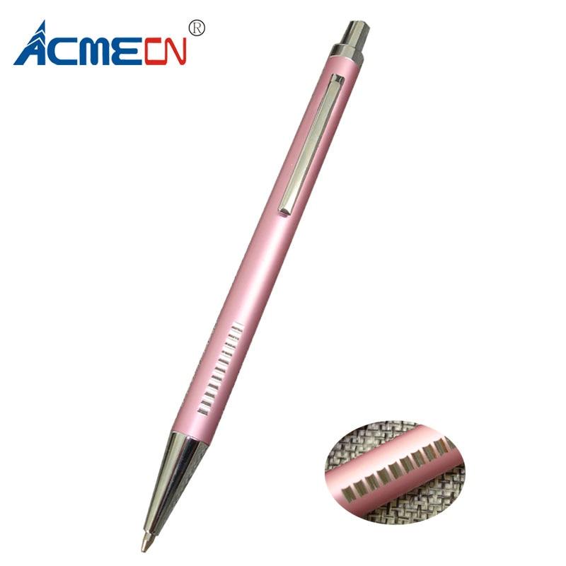 [해외]/ACMECN Pink Ball Pen Aluminium Ballpoint Pen metal refill School Students Writing Instruments Fashion Gifts Pen for Lady