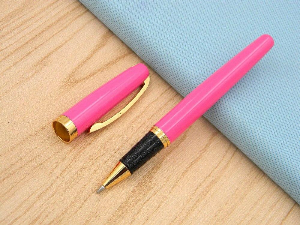 [해외]/GOLDEN metal Hotpink Fashionable new Rollerball Pen