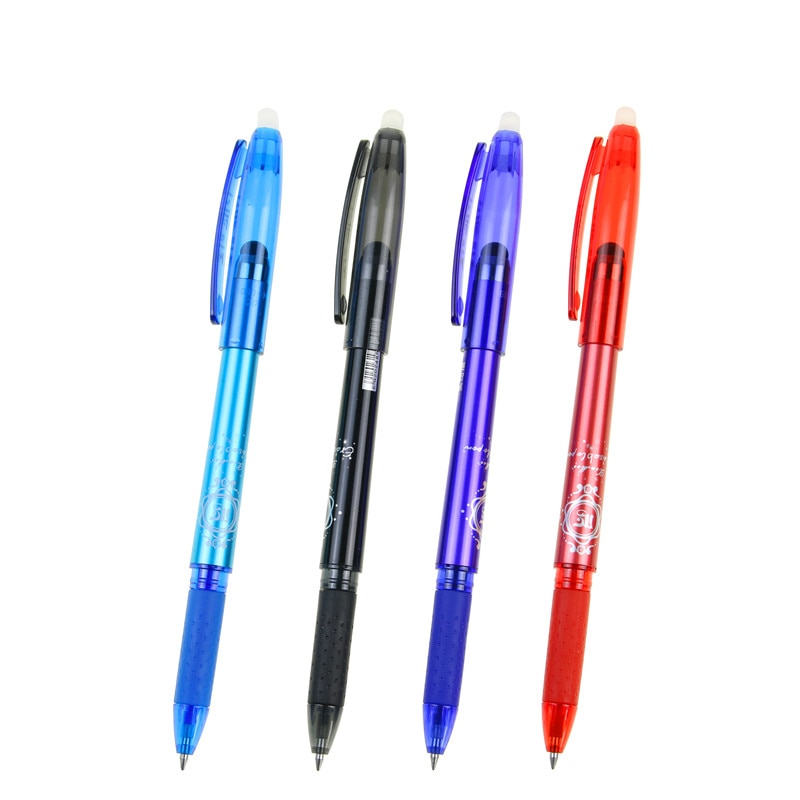 [해외]UniMagic Erasable Pen Blue Black Red Ink Color Office Supply School Student Exam Spare Mobile Phone Touchable Gel Pen/UniMagic Erasable Pen Blue B