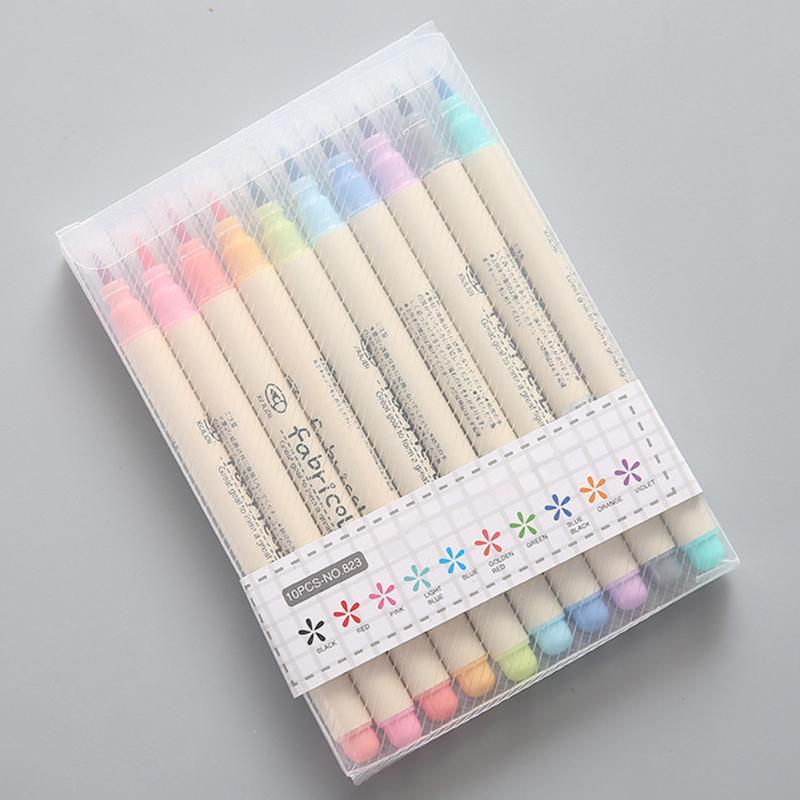 [해외]10pcs 편지지 부드러운 수채화 펜 그리기 펜 세트 달필 그리기 미술 학교 용품/10pcs Stationery Soft Watercolor Pen Drawing Pen Set Calligraphy Drawing Art School Supplies