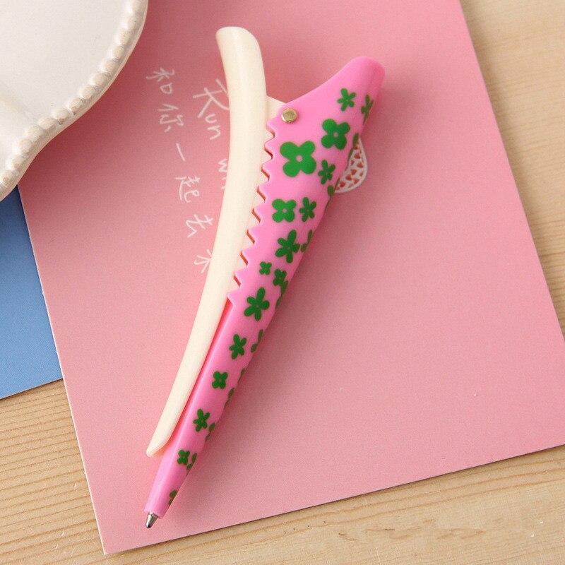 [해외]한국 편지지 크리 에이 티브 머리핀 모양 작은 다기능 볼펜 공장 직접 판매/한국 편지지 크리 에이 티브 머리핀 모양 작은 다기능 볼펜 공장 직접 판매