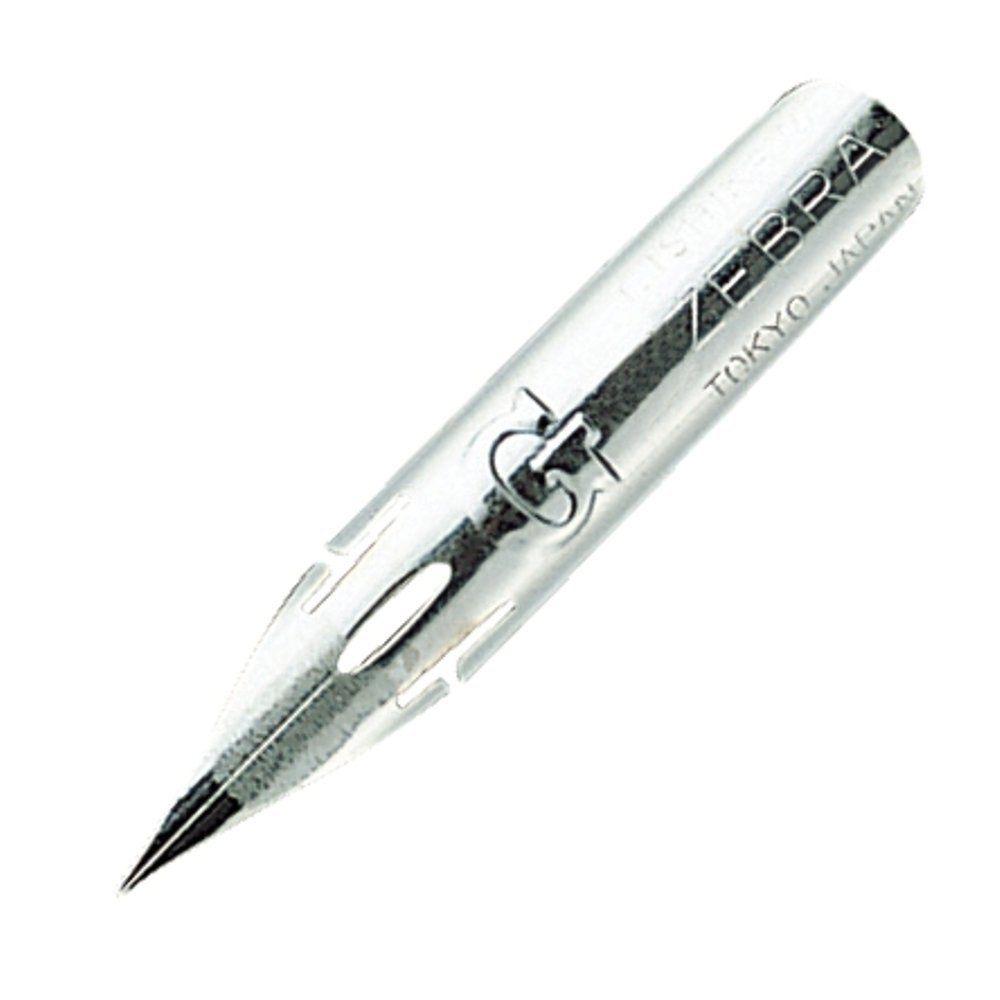 [해외]10 zebra comic g 모델 chrome pen nib (10 nibs 1 pack) (PG-6B-C-K)/10 zebra comic g 모델 chrome pen nib (10 nibs 1 pack) (PG-6B-C-K)