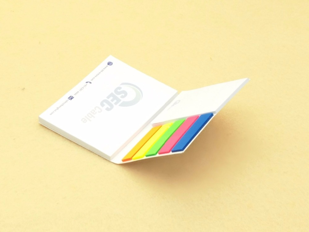 [해외][&Freelogo]500pcs/lotcover company logo customized school/office supply personalized sticky note wholesale/[&Freelogo]500pcs/lotcover comp