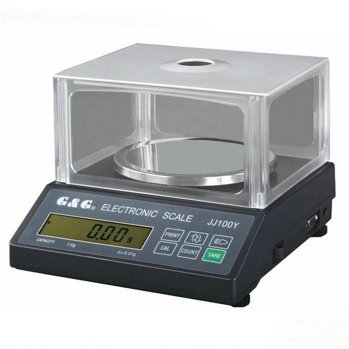 [해외]JJ 시리즈 200g 0.01g 전자 저울, 실험실을둥근 스케일 패널 분석 저울 유리/JJ series 200g 0.01g electronic scale,  round scale panel analytical balancewindshield for Laborat
