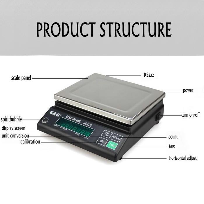 [해외]JJ 시리즈 3000g 디지털 정밀 전자 저울, 분석 저울, 실험실 교육용 정확한 계량 규모/JJ series 3000g 0.1g Digital Precision electronic scale, analytical balance, Accurate weighing