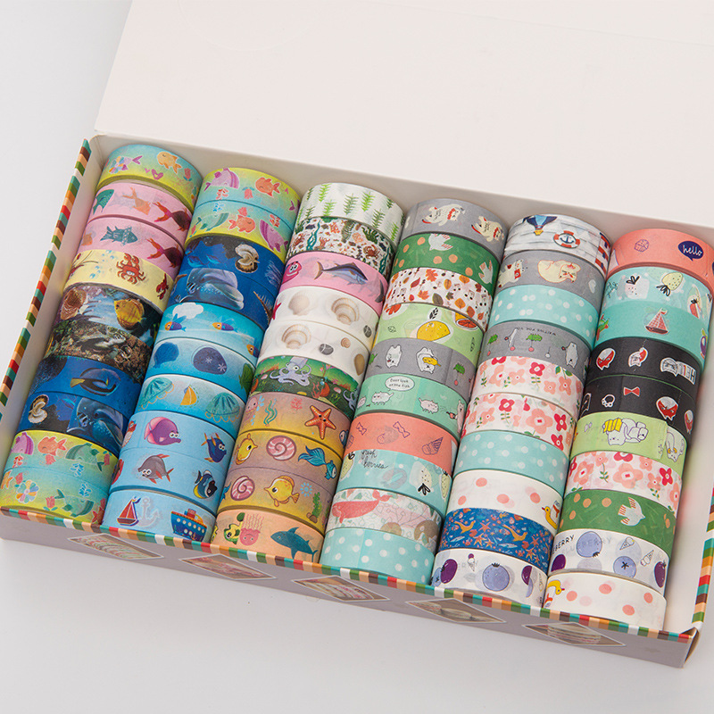 [해외](5 pieces/lot) Cute Washi Tape Animal Cintas Adhesivas Decoracion Scrapbooking Masking Tape Lot /(5 pieces/lot) Cute Washi Tape Animal Cintas Adhe