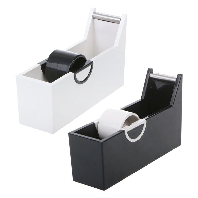 [해외]Creative Plastic Desktop Adhesive Tape Dispenser Cutter Stand Holder Office School Supplies Stationery/Creative Plastic Desktop Adhesive