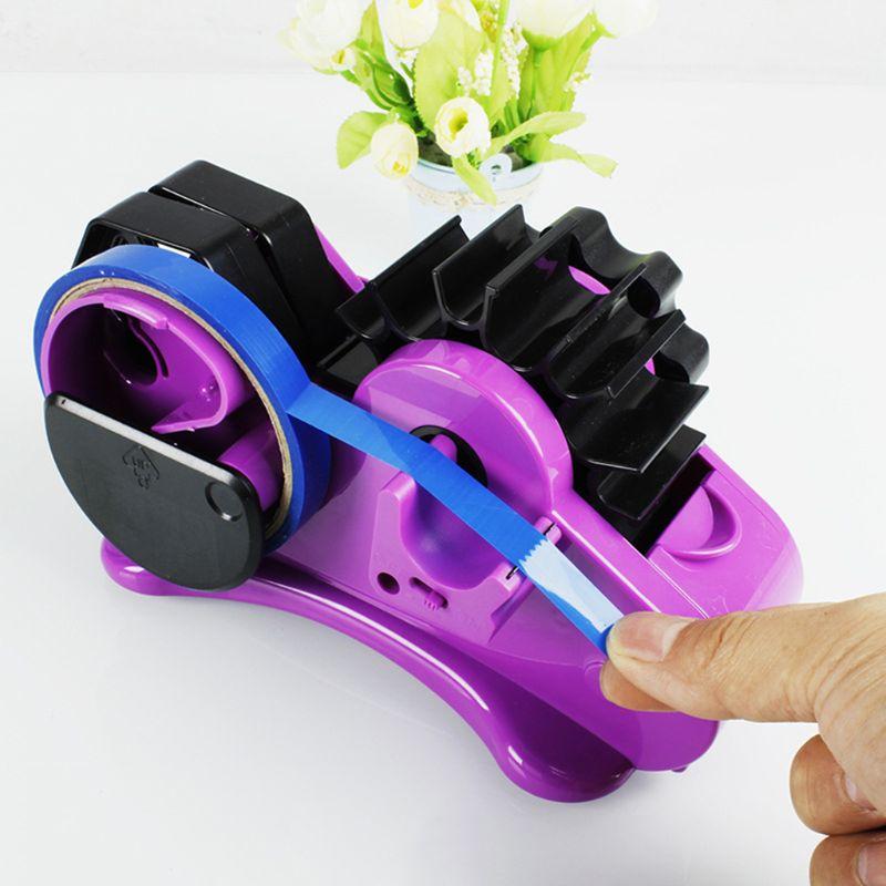 [해외]35mm 고정 길이 테이프 커터와 세미 자동 테이프 디스펜서 데스크탑 오피스 포장 홈 도구