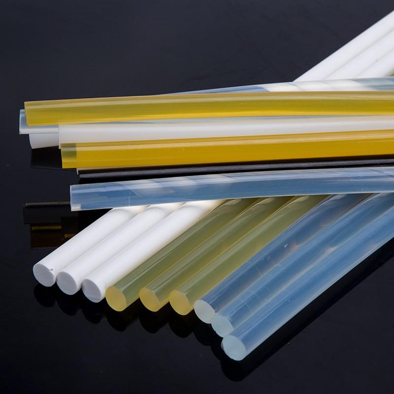 [해외]500 Pcs 150mm Length Solder Iron Black/Clear Melt Glue Stick Hot Glue Paintless Dent Removal Kit For Car Dent Removal Tool/500 Pcs 150mm