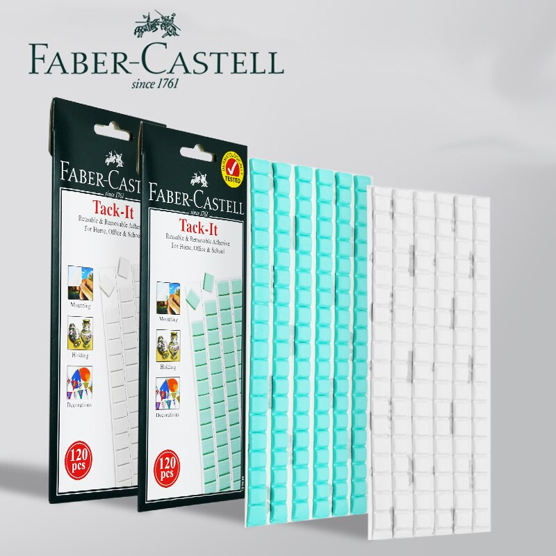 [해외]Faber Castell 1870 Adhesive Tack-It 75g Multipurpose Reusable/Removable Adhesives for Home/School 3pcs Wall Sticky Putty/Faber Castell 1870 Adhesi