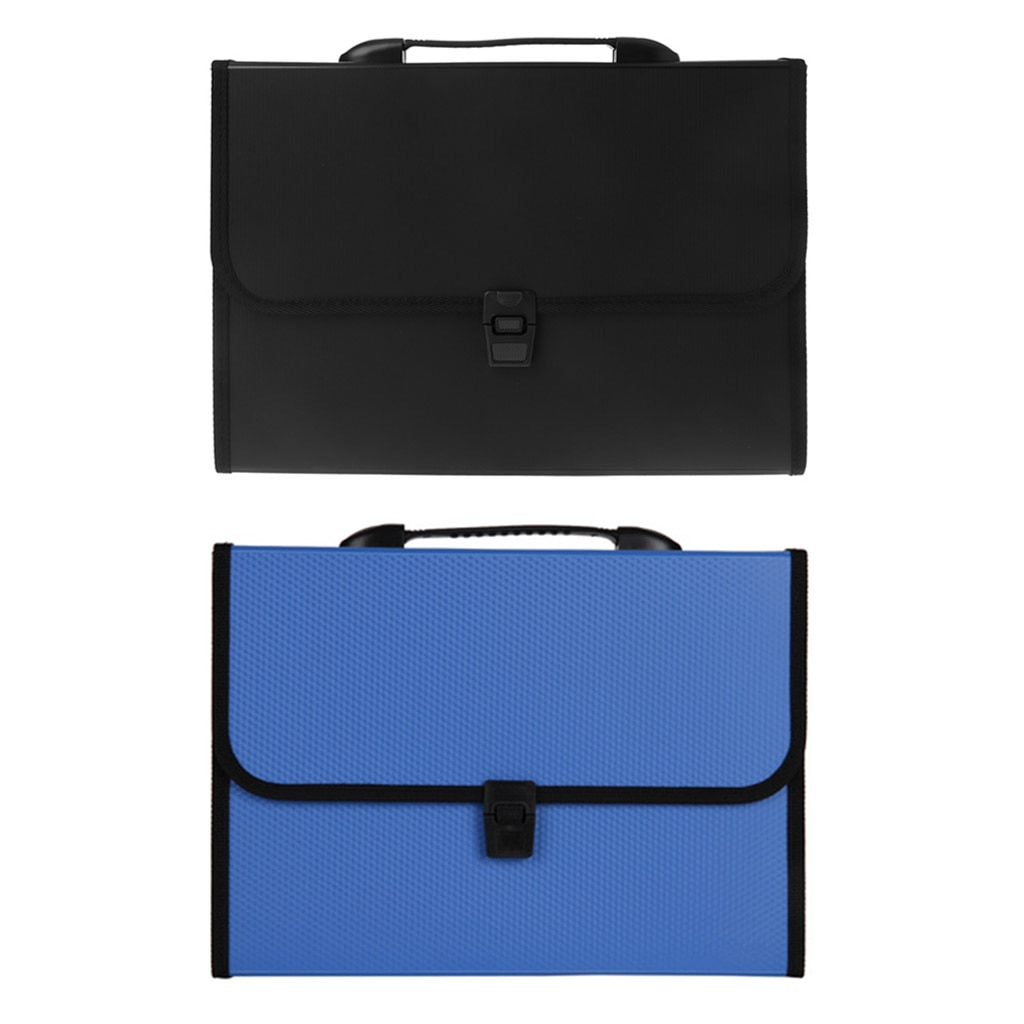 [해외]A4 Business Document Storage Expandable File Folder Office waterproof Briefcase   /A4 Business Document Storage Expandable File Folder Office wate