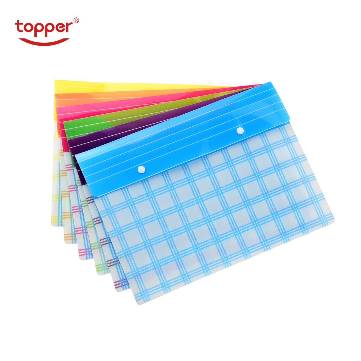 [해외]6pcs/set freeshiping FC/A4 size transparent printed Plastic document bag fileFolders Filing Paper Storage Office School Supplies/6pcs/set freeship