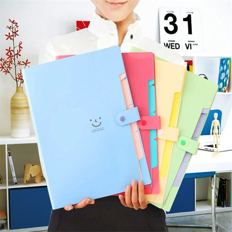 [해외] Plastic A4 File Document Bag Waterproof Pouch Bill Folder Holder Organizer School Supplies / Plastic A4 File Document Bag Waterproof Pouch Bill F