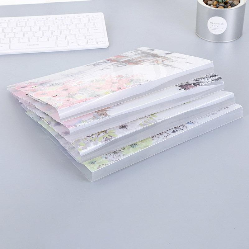 [해외]Coloffice 유럽 폴더 투명 싱글 더블 클립 강력한 클립 파일 테스트 용지 폴더 사무실 및 학교 용품 30 * 23cm 1PC/Coloffice European Folder Transparent Single Double Clip Strong Clip Fil
