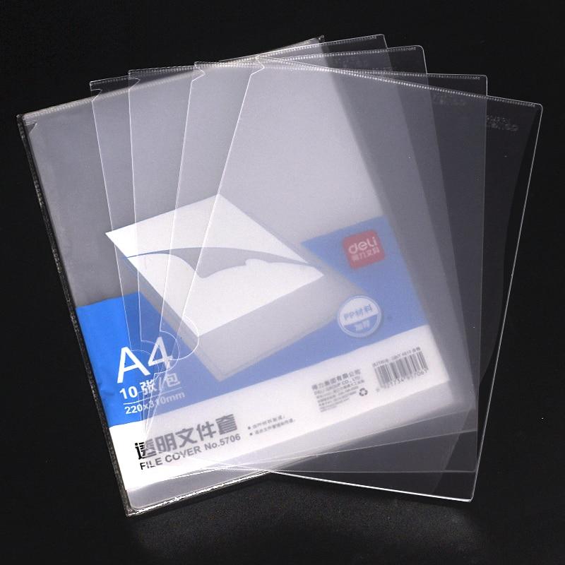 [해외]Deli Presentation Folder Office Document Bag Student Test Paper Storage Folder File Bags Carpetas A4 File Folder Filing Supplies/Deli Pr