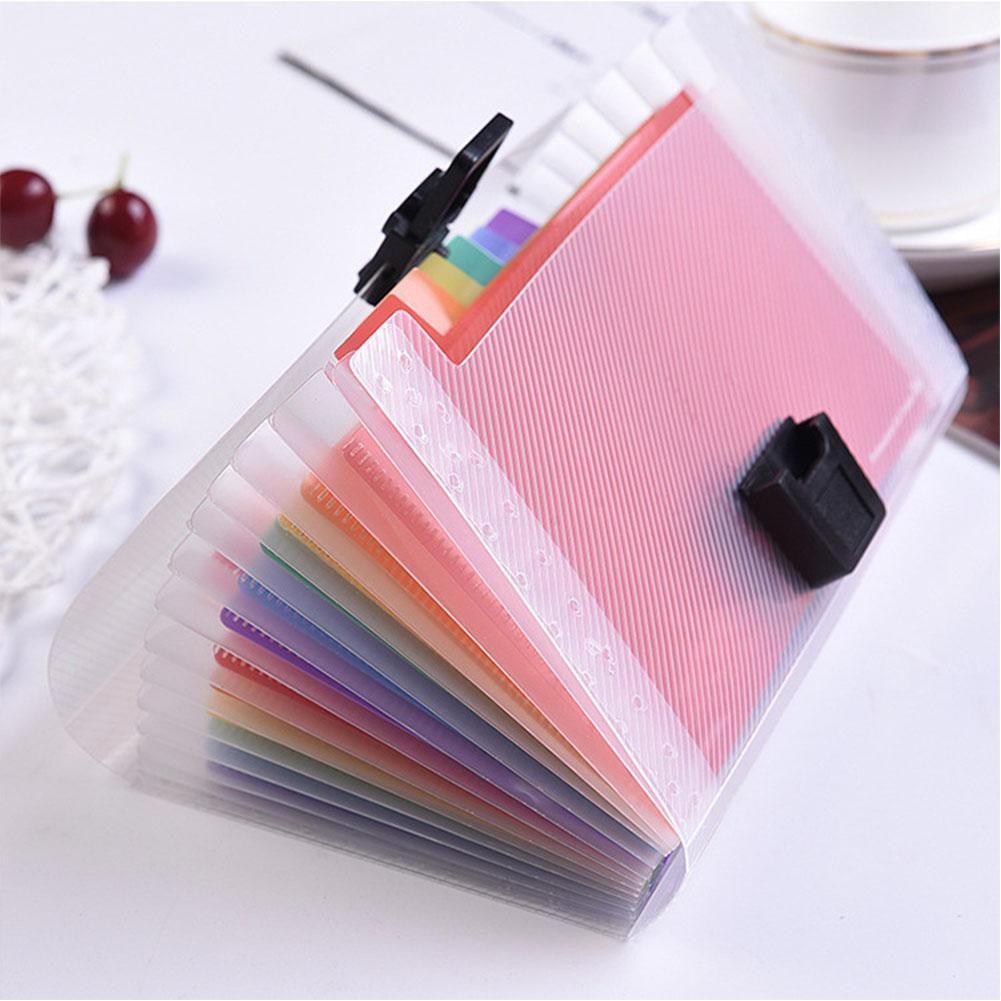 [해외]Adeeing A6 Expanding File Folder Document Organizer 13 Pockets Accordion Folder Organizer for Documents Bag r20/Adeeing A6 Expanding Fil