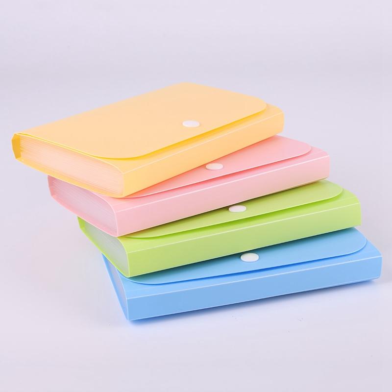[해외]플라스틱 캔디 컬러 a6 파일 폴더 작은 문서 가방 확장 지갑 빌 폴더 문서 fichario escolar/플라스틱 캔디 컬러 a6 파일 폴더 작은 문서 가방 확장 지갑 빌 폴더 문서 fichario escolar